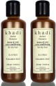 Khadi Henna And Tulsi Extra Conditioning SLS And Parabens Free Shampoo (Twin Pack) - 420 Ml