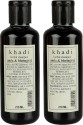 Khadi Herbal Amla & Bhringraj Shampoo Pack Of 2 - 210 Ml