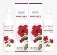 Aroma Treasures Hibiscus Shampoo (100ml)(Pack Of 2) (200 Ml)