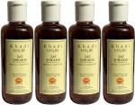 Khadi Mauri Shikakai Sat Shampoo with Bhringraj Extracts Pack of 4 Herbal Ayurvedic Natural 210 ml each