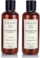 Khadi Herbal Woody Sandal & Honey Shampoo (SLS, Sulfate & Paraben Free) (420 Ml)