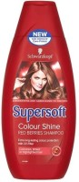 Schwarzkopf Supersoft Colour Shine Red Berries Shampoo (400 Ml)