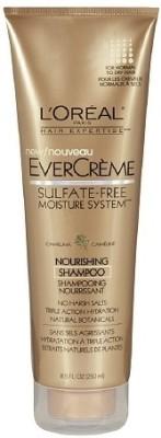 L 'Oreal Paris EverCreme Nourishing Shampoo Imported
