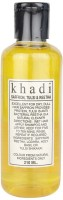 Parvati Khadi Gramodyog Herbal Products Khadi Shampoo Saffron Tulsi Reetha (210 Ml)