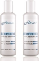 Flocare Anti Dandruff Shampoo (Set Of 2) (400 Ml)
