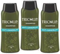 Trichup Anti Dandruff Herbal Shampoo Combo Pack (600 Ml)