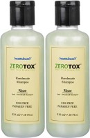 Healthbuddy Zerotox Handmade Neem Anti Dandruff Shampoo, 2 Packs Of 210 Ml Each (420 Ml)