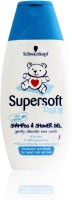 Schwarzkopf Supersoft Baby Shampoo & Shower Gel - No Tears (250 Ml)