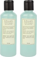 Khadi Khadi Hinna Amla And Honey Herbal Shampoo (420 Ml)