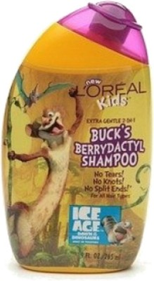 L' Oreal Paris Professionnel Kids berry go round smoothie 2 in 1 hair shampoo, ice age 3