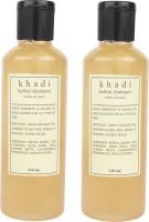 Khadi Reetha And Honey Herbal Shampoo Pack Of 2 (420 Ml)