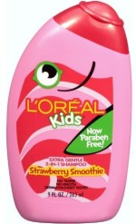 L' Oreal Paris Professionnel Kids 2 In 1 Shampoo For Extra Softness, Strawberry Smoothie