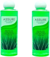 Assure Deep Cleansing Shampoo (Pack Of 2) (200 Ml)