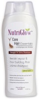 NutriGlow Straight N Shine Shampoo - For All Hair Types (200 Ml)