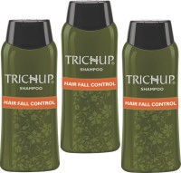 Trichup Hair Fall Control Herbal Shampoo (200 Ml) (Pack Of 3) (200 Ml)
