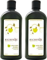 Richfeel Green Apple Shampoo Pack Of 2 (200 Ml)