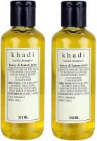 Khadi Herbal Honey & Lemon Juice Twin Pack (420 Ml)