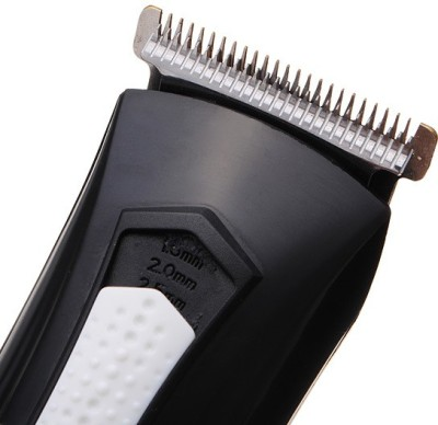 Kemei Professional High Quality Advanced Shaving System KM-3007 Trimmer For Men (Black)