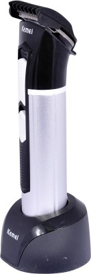 Kemei Professional High Quality Advanced Shaving System KM-3007 Trimmer For Men (Black)