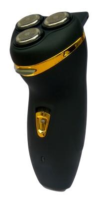 gemeiNOVA Three Head Cutter Razor NV-178 Trimmer For Men (Black)