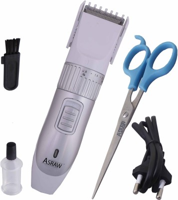 ASRAW Professional AST040 Trimmer For Men (SILVER)