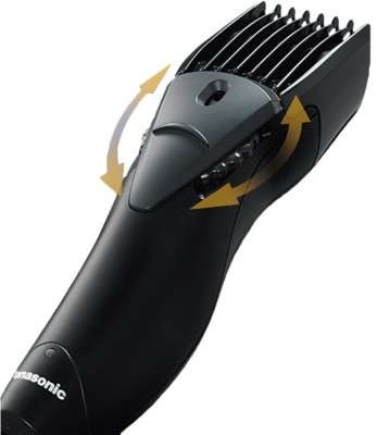Panasonic Beard and Hair ER207WK44B Trimmer For Men (Black)