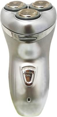 Professional V99 Three Cutter Head Shaver For Men, Women (Silver)