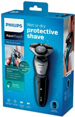 Philips Body Groomer S5420 Shaver For Men (Neptune Blue - Charcoal Grey)