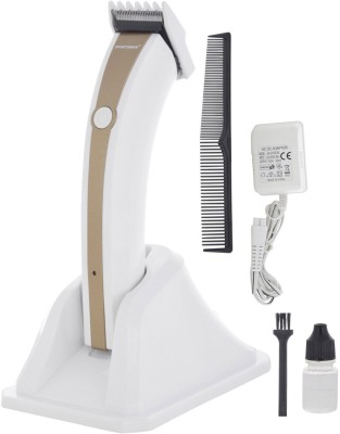Sportsman Professional Rechargeable Clipper SM-22 Trimmer, Body Groomer For Men, Women (Gold)