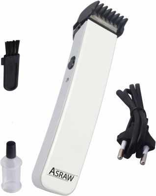 ASRAW Professional ASL016 Trimmer For Men (White)