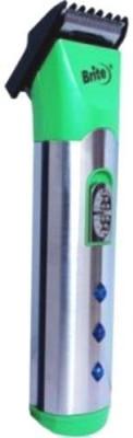 Brite Body Groomer BHT 530 Trimmer For Men (Green)