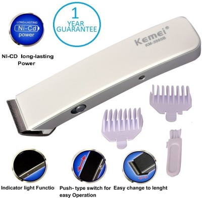Kemei Professional KM-3005A Trimmer For Men (White)