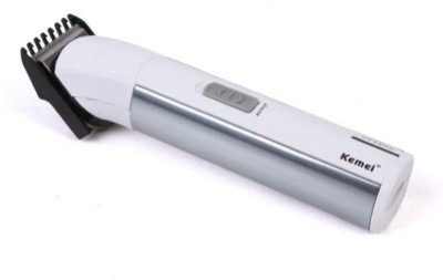 Kemei km-028/00 028 Trimmer For Men (Silver)