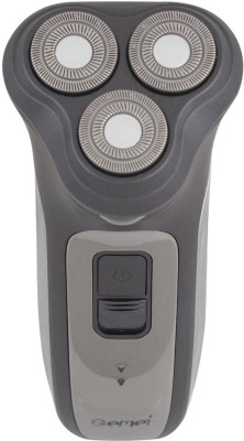 Gemei Rechargeable GM-6900 Shaver For Men (Grey, Silver)