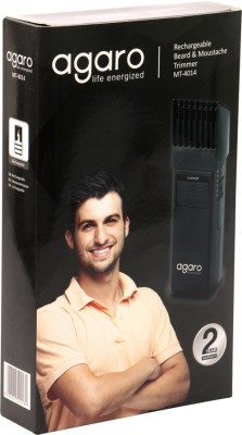 Agaro Beard MT-4014 Trimmer For Men (Black)