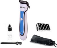 Nova Fasionable NHT 1062 Trimmer For Men (White, Blue)