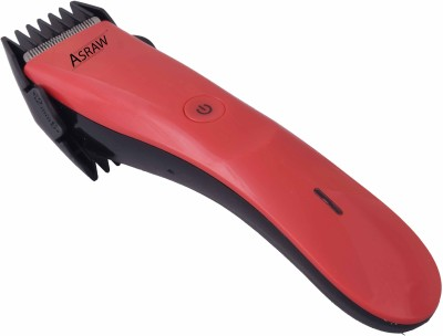 ASRAW Professional AST077 Trimmer For Men (Red)