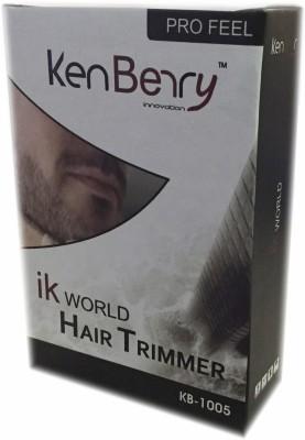 KenBerry Pro Feel KB1005-1 Trimmer For Men (White)
