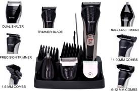 Kemei 7 IN 1--KM-590 7 IN 1--KM-590 Trimmer, Clipper, Shaver For Men