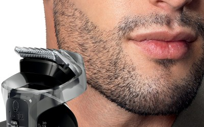 Philips All in One Face & Head Styling Multi Groom Series QG3347/15 Trimmer For Men (Black, Orange)