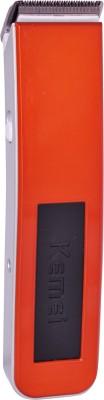 Kemei Professional KM-3005A Trimmer For Men (Orange)