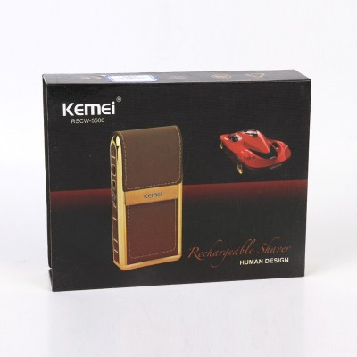 Kemei km-5500 RSCW-5500/00 Shaver For Men (Multicolor)