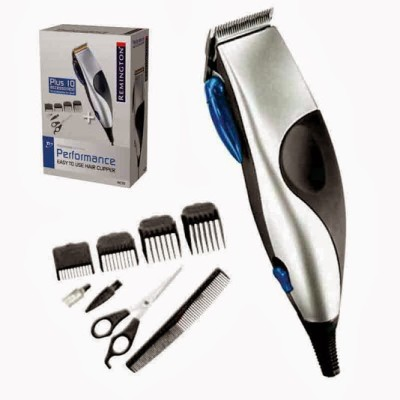 Remington Hair Cut Kit RE-HC70 Clipper For Men (Silver)