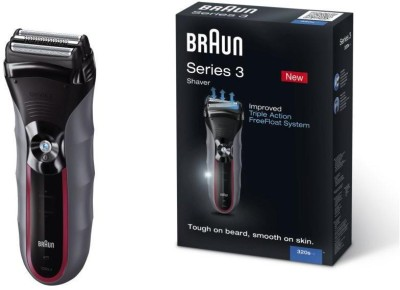 Braun Trimmer Se3-320 Shaver For Men (Black)