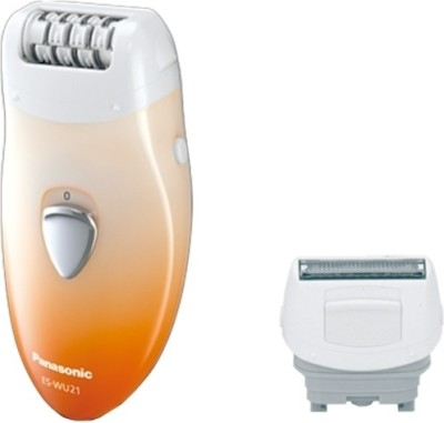 Panasonic ES-WU21 Epilator For Women (Orange & White)