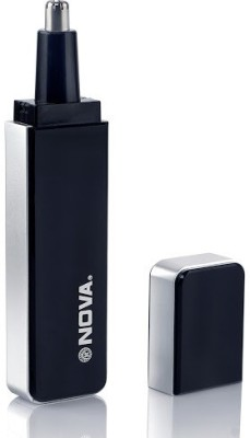 Nova Nose & Ear NNT 1091 Trimmer For Men (Black & Silver)