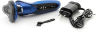 Sportsman 4D Rechargeable Shaver/Hair Clipper/Nose Trmmer SM-512 Grooming Kit For Men (Black, Blue)