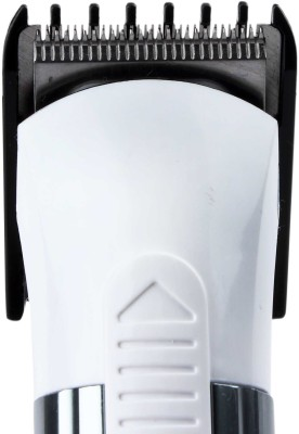 Nova NHT-1014 Trimmer For Men (White & Silver)