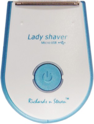 Richards n Steven BEAUTY CARE - NOW IN INDIA RS3999 Shaver For Women (White & Blue)