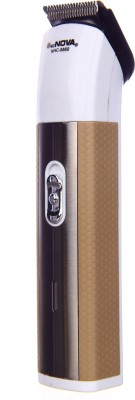 Mz Nova 2in1 Rechargeable NHC-8860 Trimmer For Men (Brown)